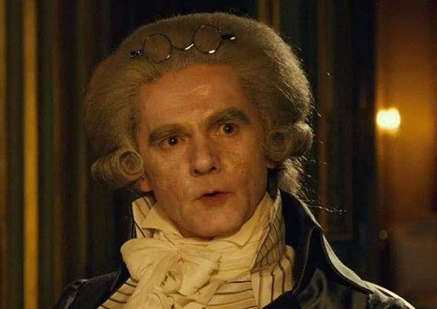 Nicolas Vaude joue Maximilien Robespierre