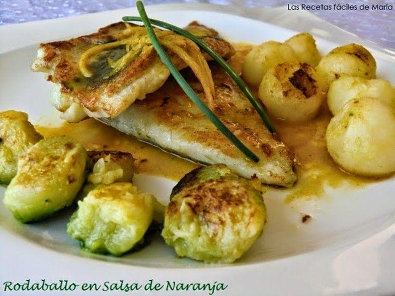 Rodaballo En Salsa De Naranja Recetas Fáciles Recetas De Comida Recetas Para Cocinar