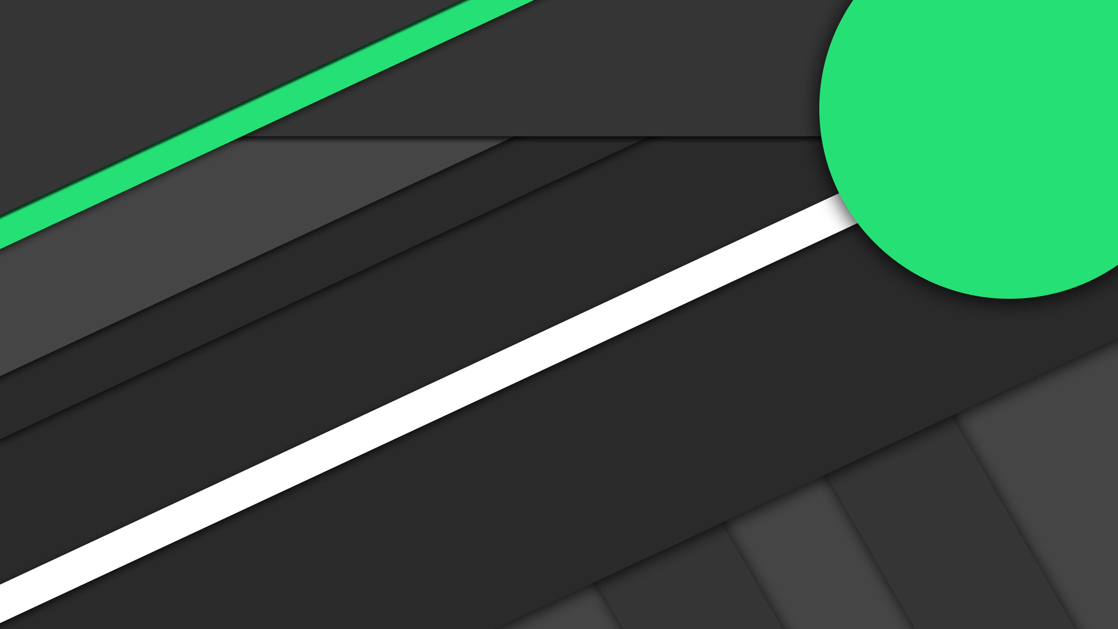 Dark material design wallpaper in 4k followme for Material design wallpaper 4k