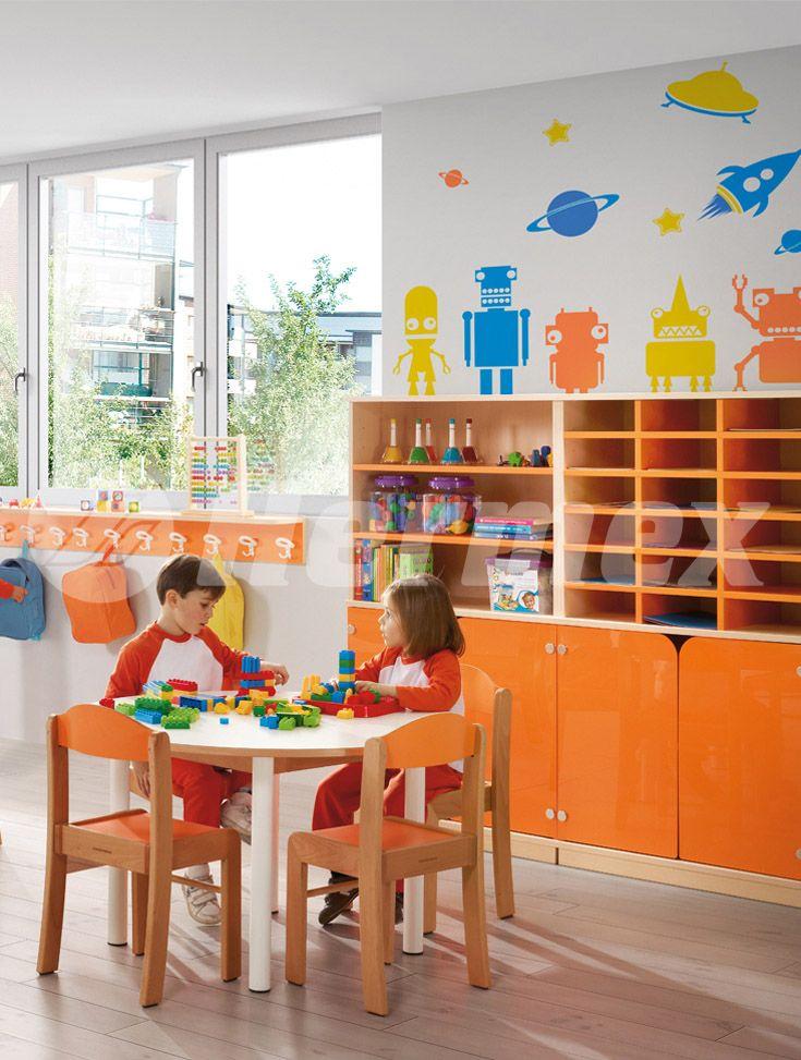 Armarios para escuelas | Aulas infantiles | Pinterest | Ideas para ...