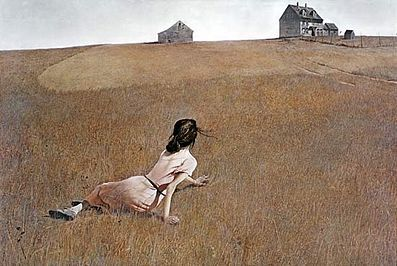 Have alway loved this Wyeth paining.