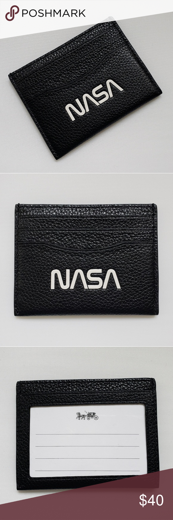 Coach Nasa Id Card Case Things To Sell Key Card Holder Coach