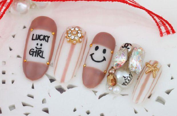 美甲金屬飾品 日系指甲鑽裝飾配件珍珠合金 暢銷款式-淘宝网全球站