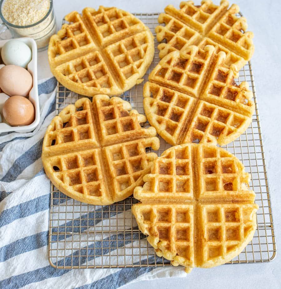 Cornbread Waffles The Best Breakfast For Dinner Idea Recipe Cornbread Waffles Waffles Cornbread Waffles Recipe