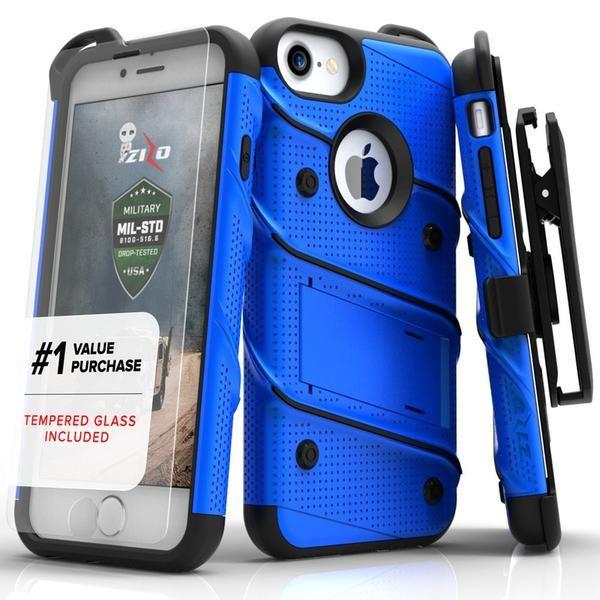 ZIZO Bolt iPhone 7 Plus Case - Blue