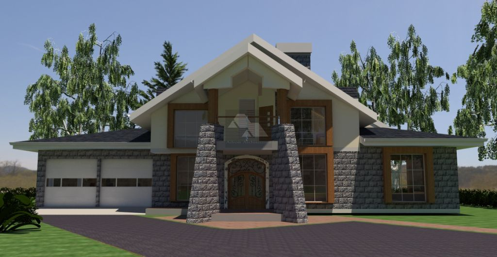 4 Bedroom House Plan In Kenya Homes Inspiration Pinterest