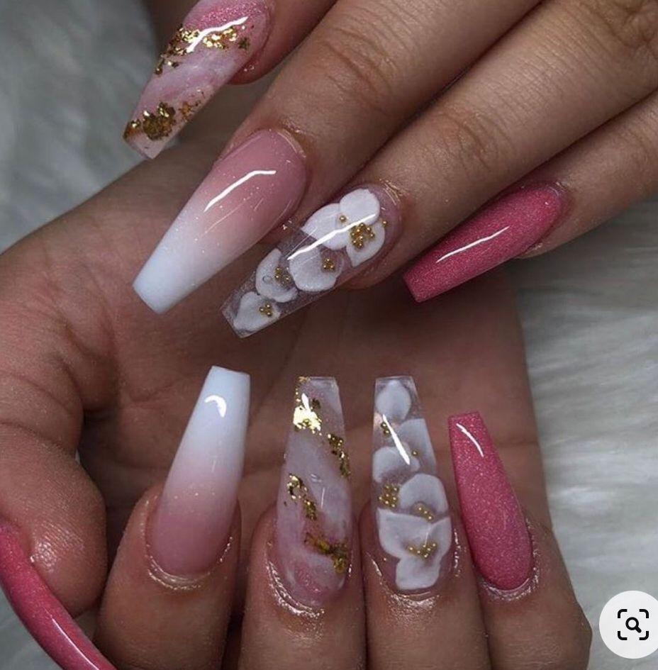 DANIELLE JASMINE ⚡️ on Instagram: Wintery 🤍 Nails by