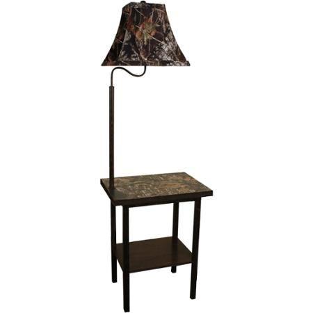 Home Crafts Oak End Tables Camo Furniture Floor Lamp
