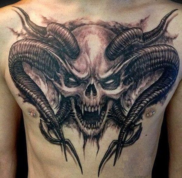 Photo of 40-Interesting-Skull-Tattoo-Designs-for-you-11.jpg (600×587)