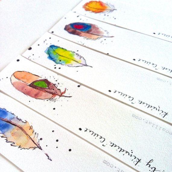 Artículos similares a Marcadores - | Manualidades | Pinterest ...