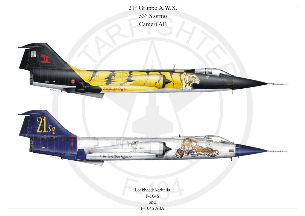 F-104S 21 Gruppo 23 Stormo Cameri AB