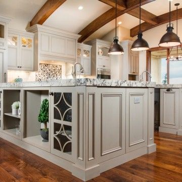 Refined Country   Craftsman Kitchens