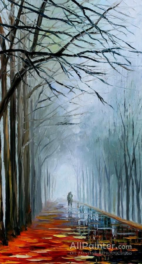 Leonid Afremov Fogy Patch oil painting reproductions for sale
