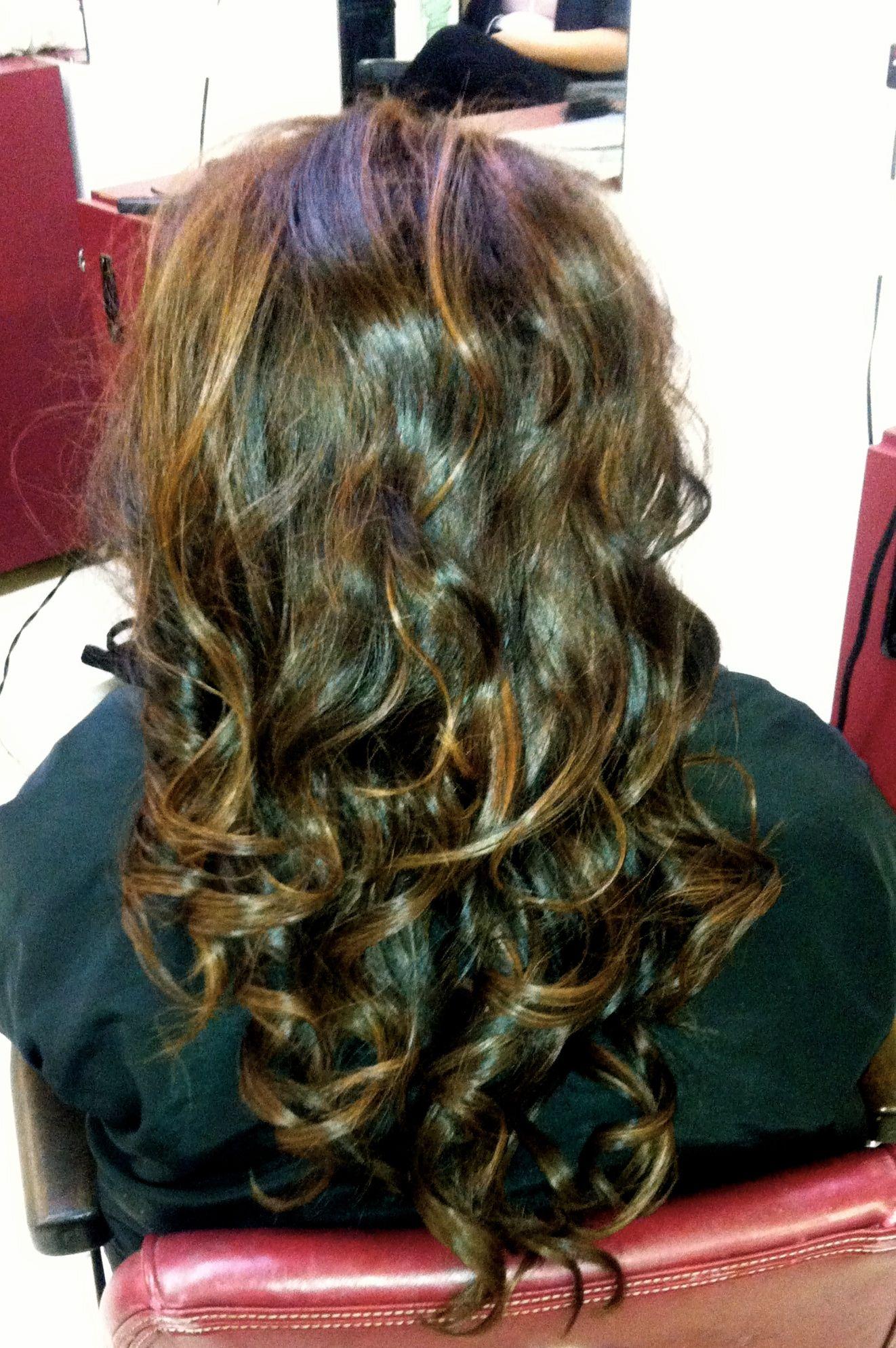 Brown Hair Dark Brown Hair With