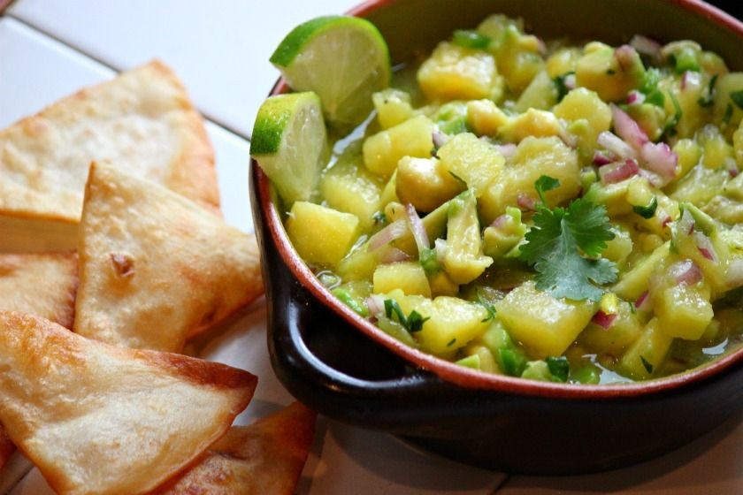 Pineapple Avocado Salsa -  Comfy Cook