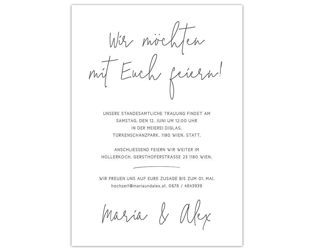 Design Hochzeitseinladung Romantisch Blumen Papierhimmel Hochzeitseinladung Einladungskarten Hochzeit Standesamtliche Trauung
