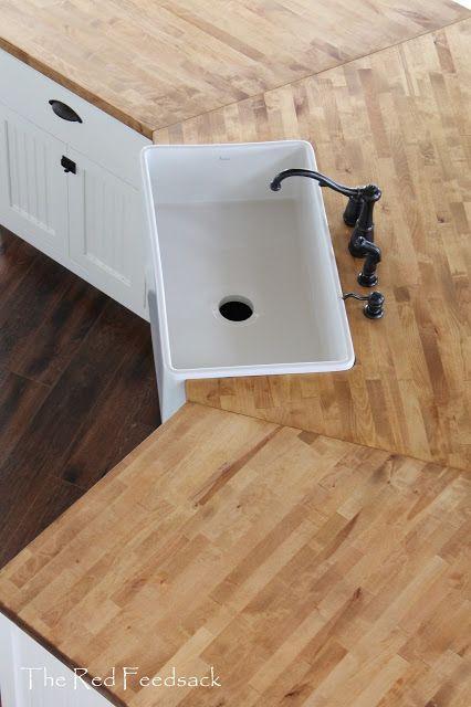 Butcher Block Counter Tops Butcher Block Countertops Corner Sink Kitchen Butcher Block Counter