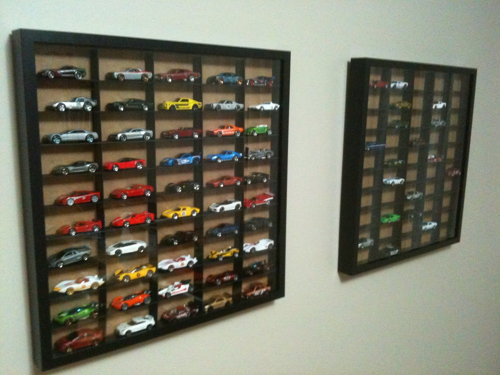 Ribba Hot Wheels Display Case