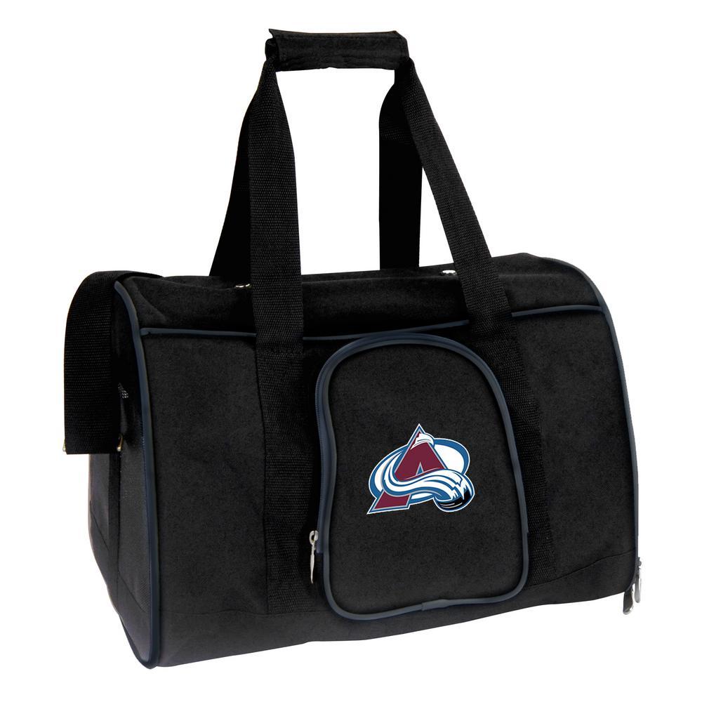 49d7fb1c523 Denco NHL Colorado Avalanche Pet Carrier Premium 16 in. Bag in  Navy-NHAVL901 - The Home Depot