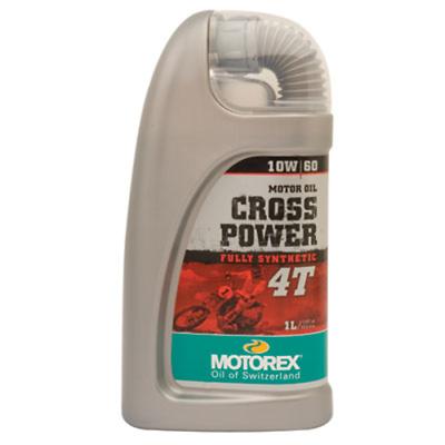 Advertisement Ebay Motorex Cross Power 4t Motor Oil 10w 60 1 Liter 102262