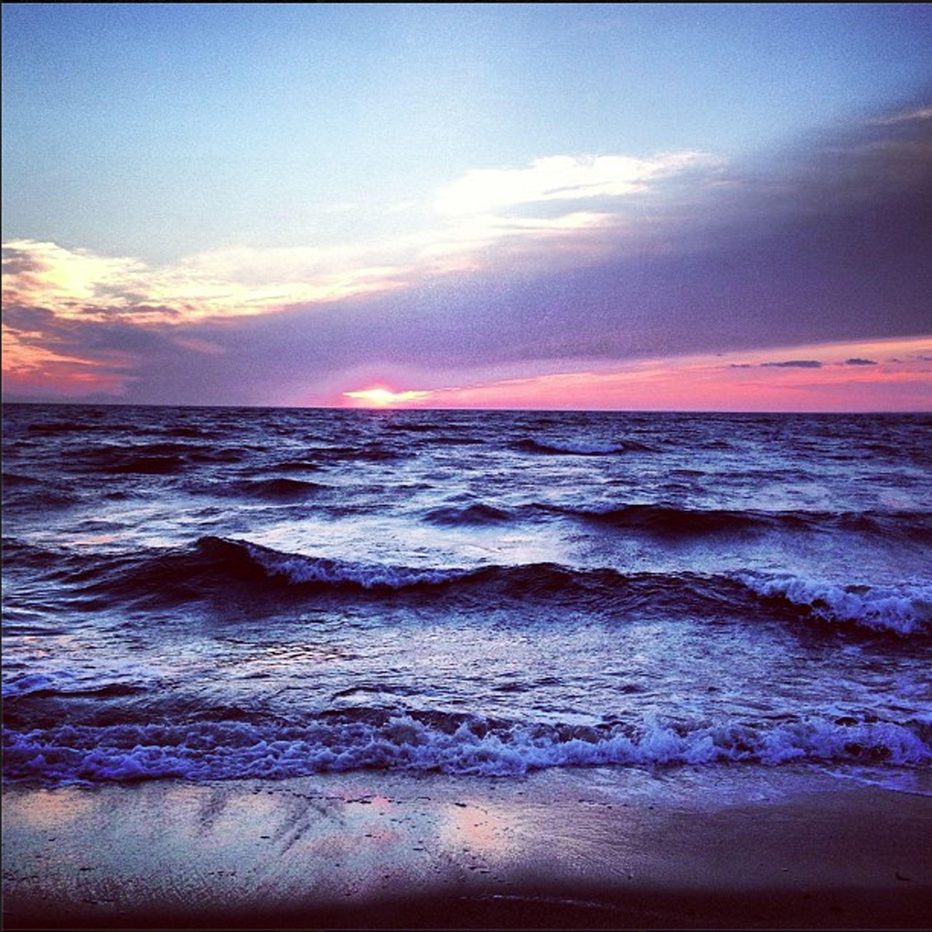 Hardings Beach, Chatham MA Cape Cod Winter Sunset All