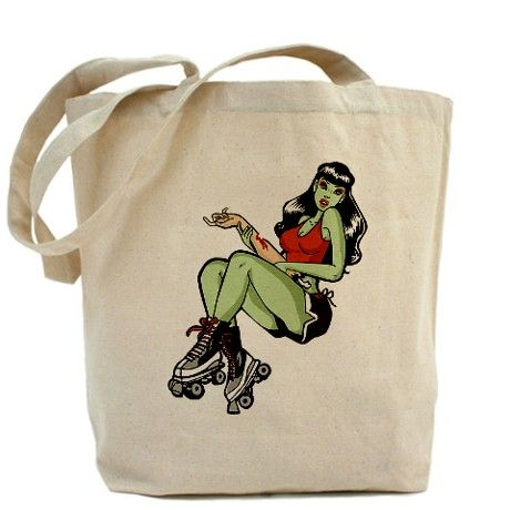 Tote Bag... She's a man eater.