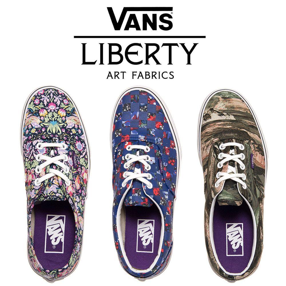 Liberty Art Fabrics x Vans Trainers