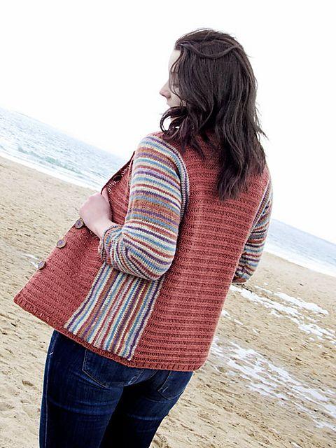 Ravelry: Colorific Cardi pattern by Hélène Rush