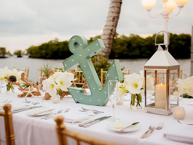 16 ideas to inspire your nautical wedding nautical wedding for a seaside or seaside themed wedding 9 ideas to inspire your nautical wedding theknot junglespirit Image collections