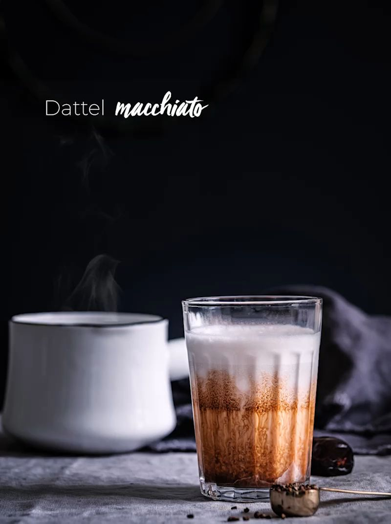 Photo of Ayurvedic coffee with dates