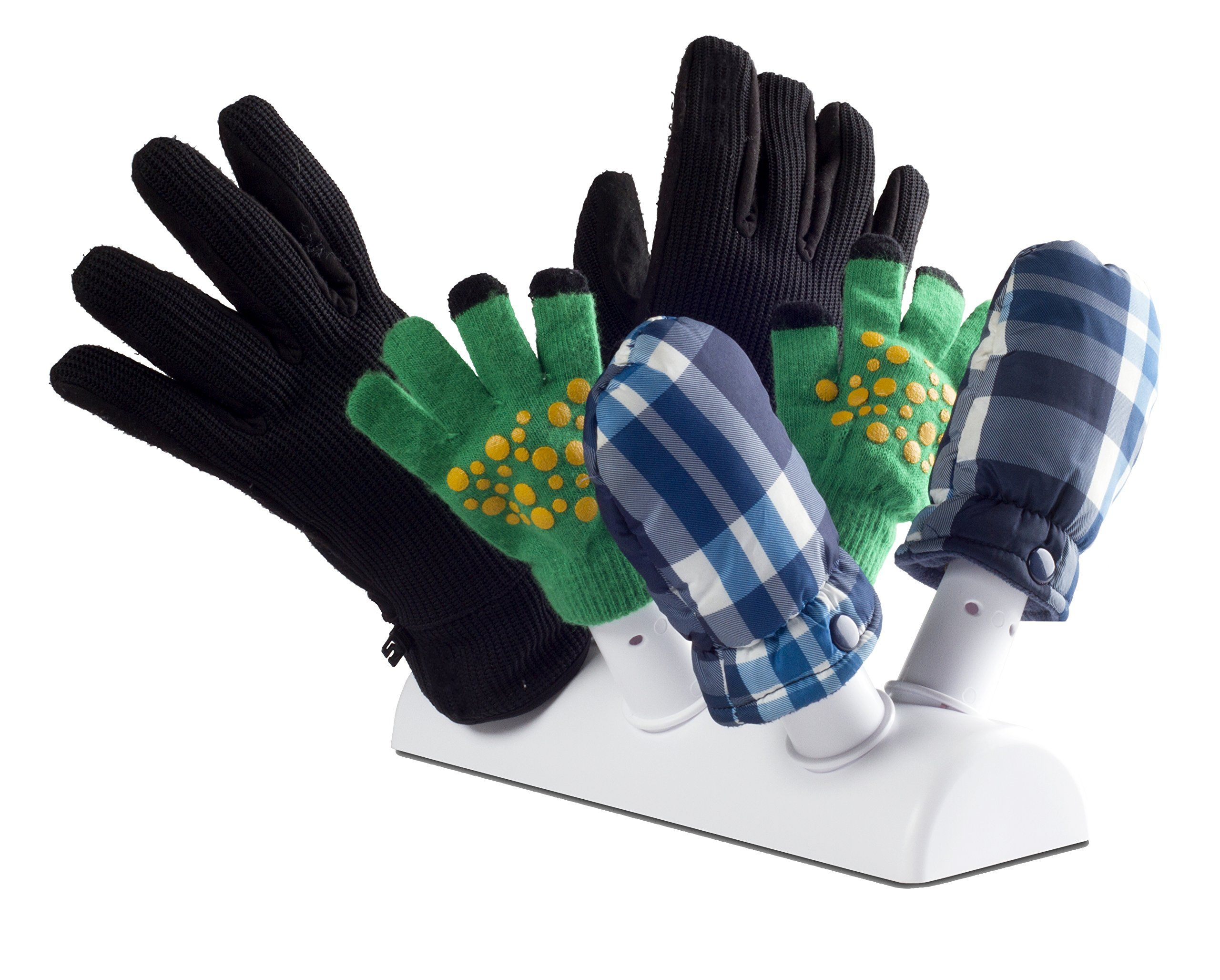 Green Glove Dryer for Hats, Gloves, Shoes and Mittens