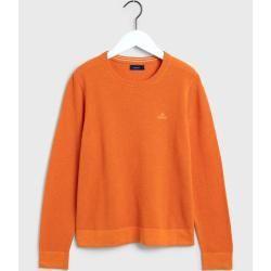 Photo of Gant Baumwoll Piqué Sweater (Orange) GantGant