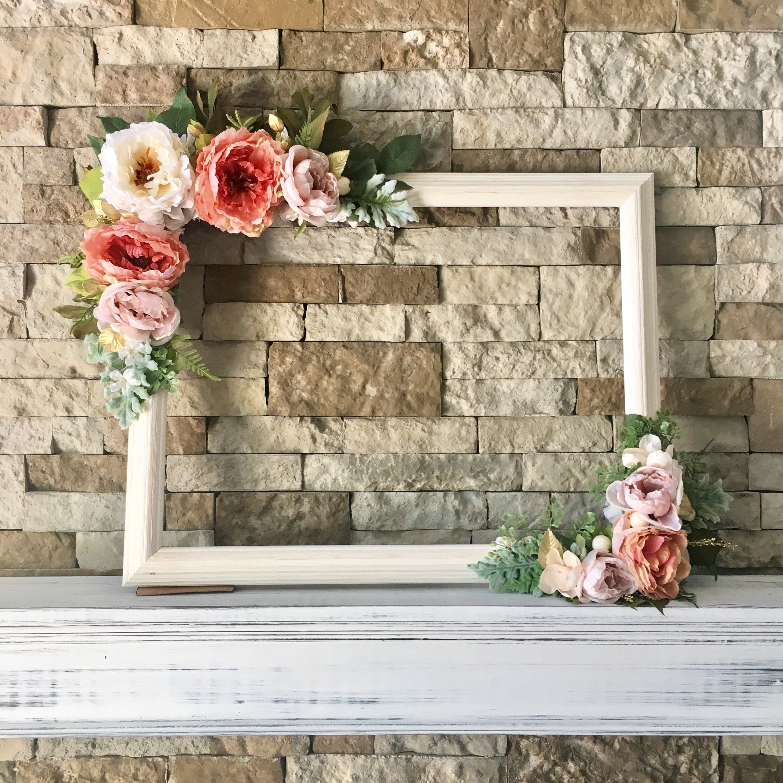 Bridal shower photo booth frame Bridal Shower Wedding selfie frame
