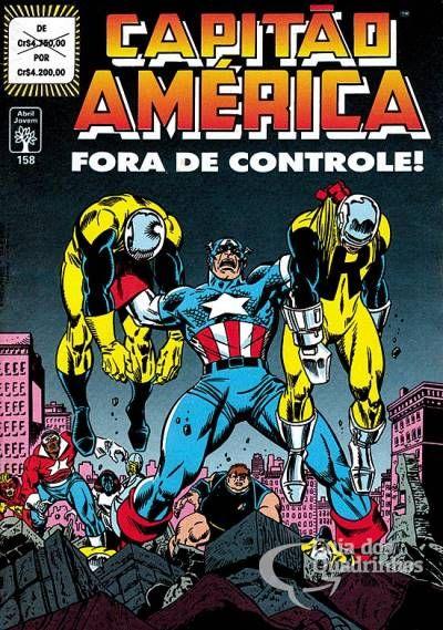 Capitão América n° 158 - Abril