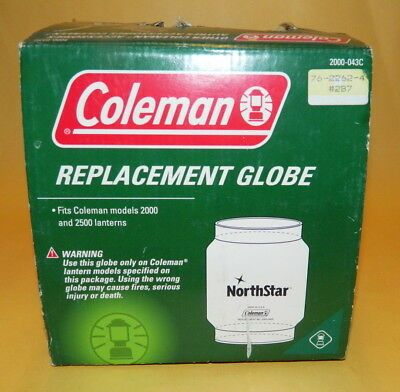 Coleman Northstar Replacment Globe