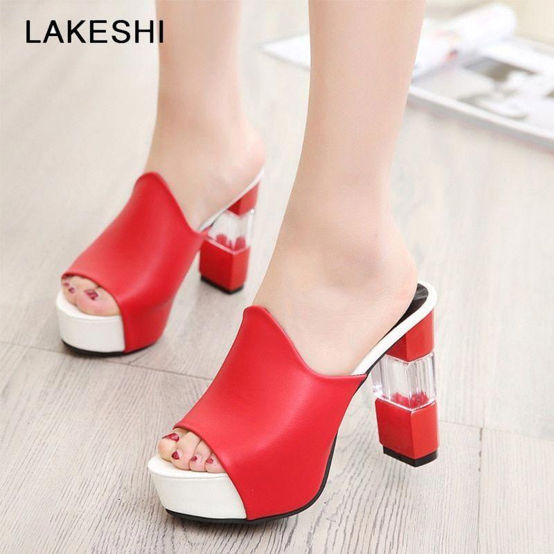 Women Pumps High Heels Shoes Women Shoes 2019 Summer Women
