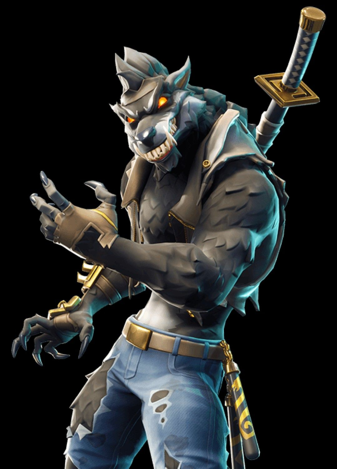 Fortnite Werewolf Bestia En 2019 Dessin Personnage
