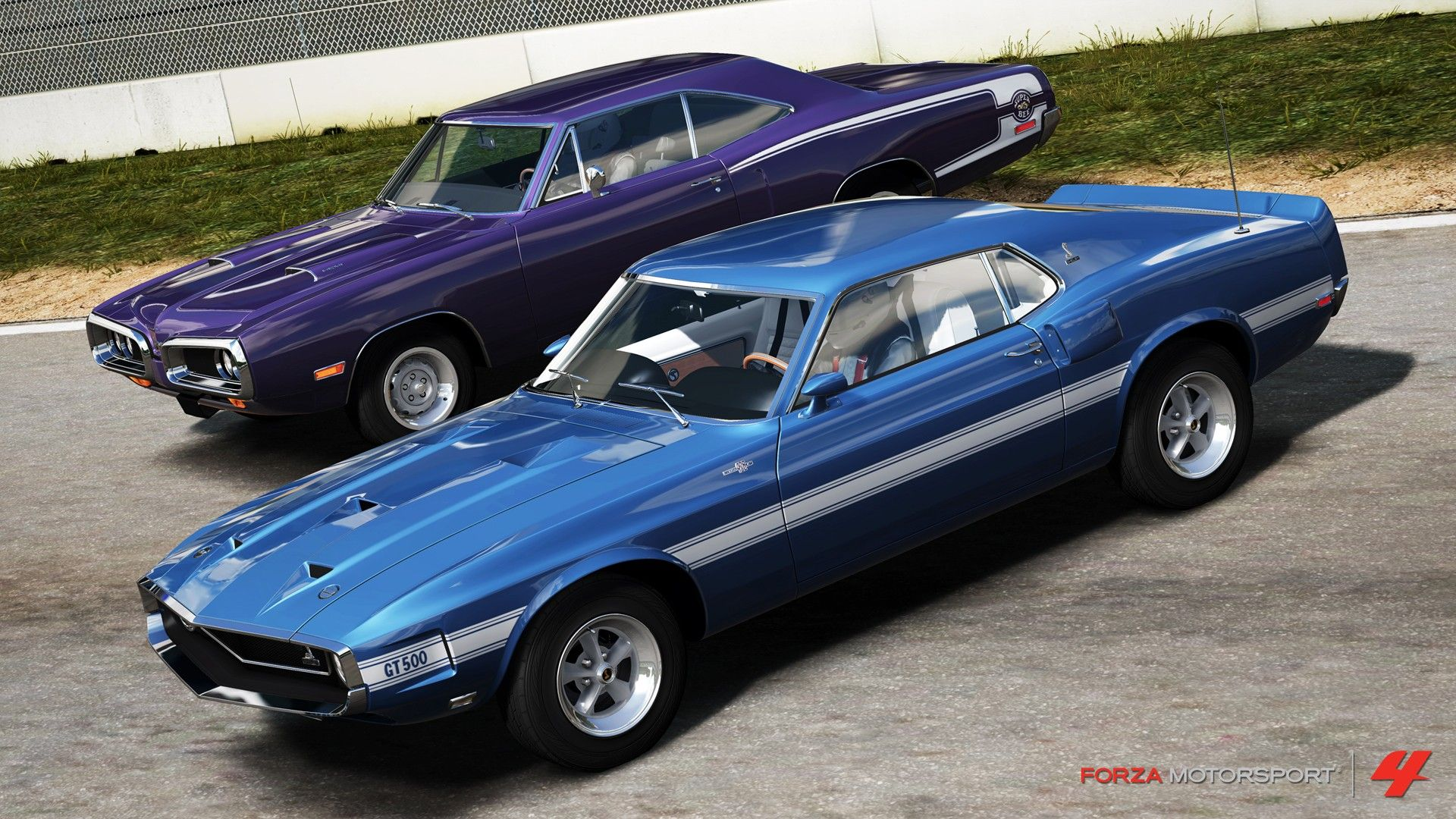 Forza Motorsport 4 Hemi Super Bee & Ford Mustang Shelby GT500 | Cars ...