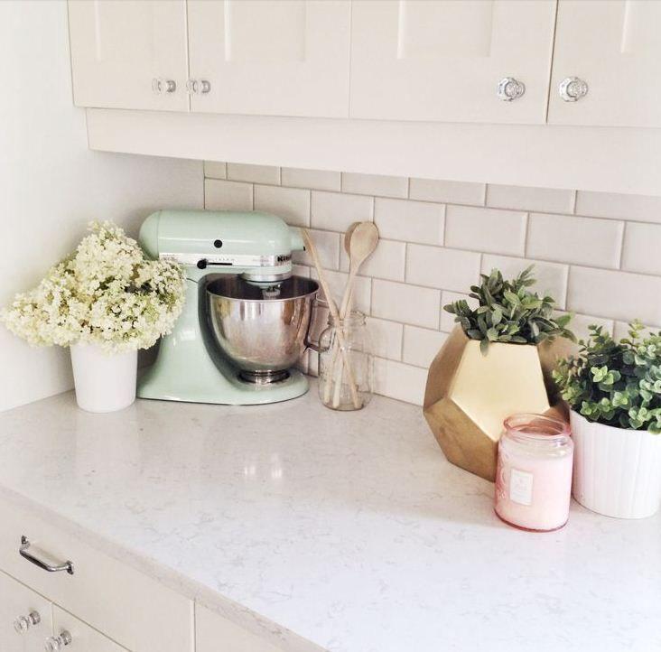 Mint Green Kitchen Decor: Love The Mint Green Mixer