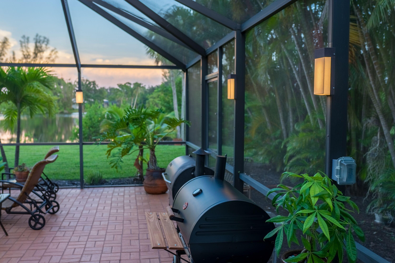 Home lanai lighting outdoor post lights pool lights