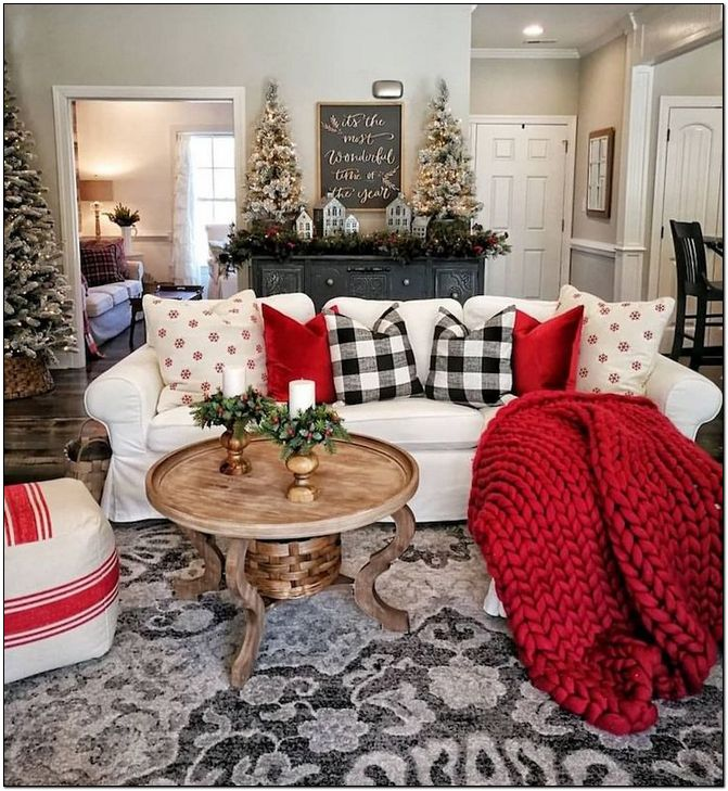 Photo of 25+ Christmas Decor Ideas For Living Room (2019) #christmasdecor
