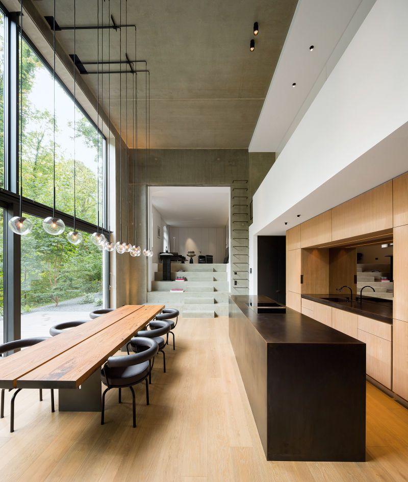 Holzrausch Handwerk Meets Interior Minimalistische Esszimmer Moderne Bauernhaus Kuchen Und Holzrausch