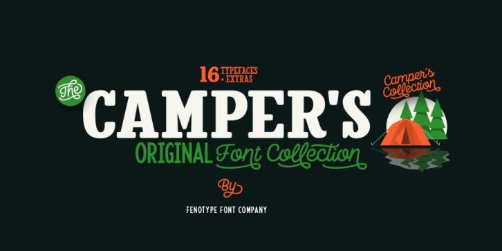Download Camper Font DOWNLOAD (With images) | Download fonts, Font ...