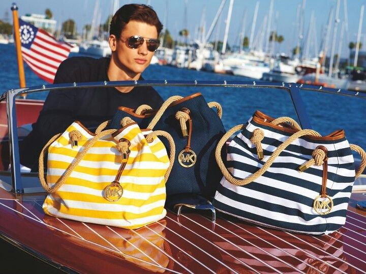 Michael Kors. I'll take them all, and the boat!