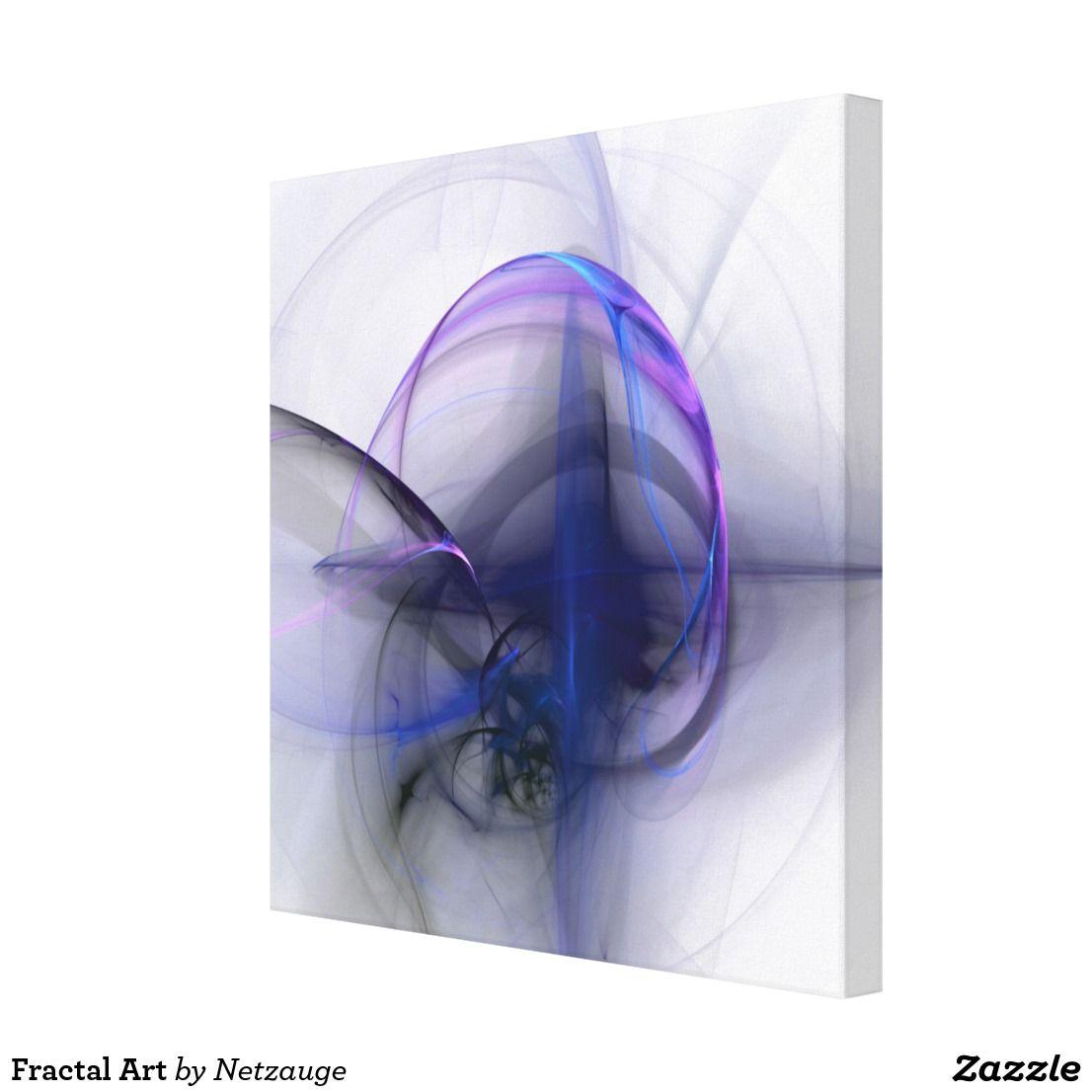 Fractal Art Leinwanddruck