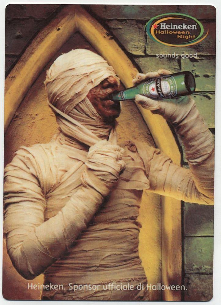 Halloween Bier.Details About Heineken Beer Metal Counter Display Sign