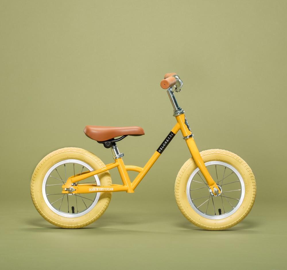 Veloretti Mini Yellow Kids Bike Stylish Toys Kids Bicycle