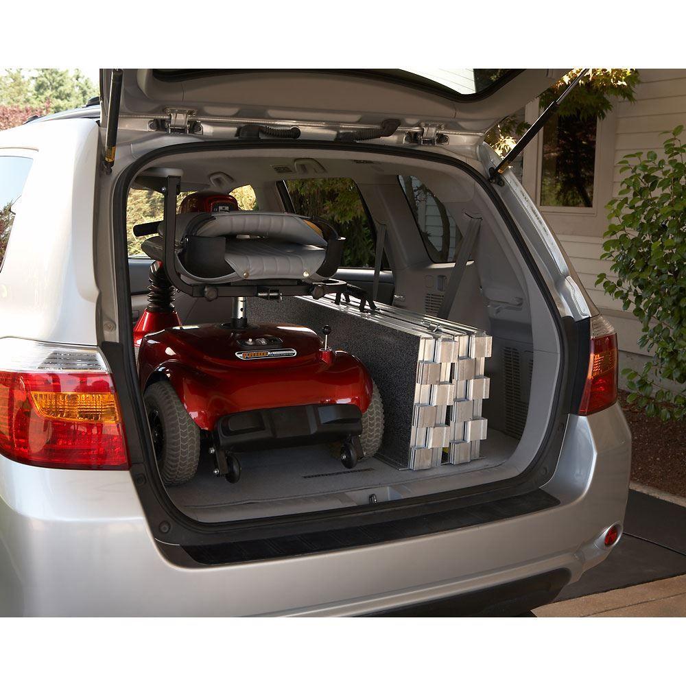 EZACCESS SUITCASE Aluminum Trifold Wheelchair Ramp 800