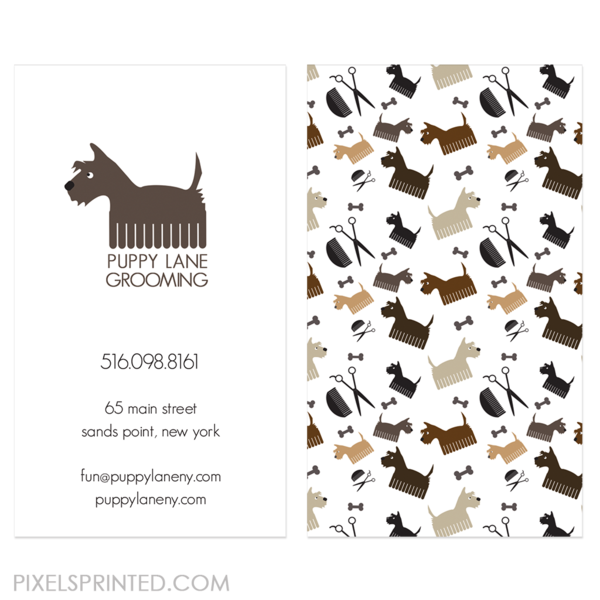 Dog Grooming Business Cards Dog Grooming Business Dog Grooming