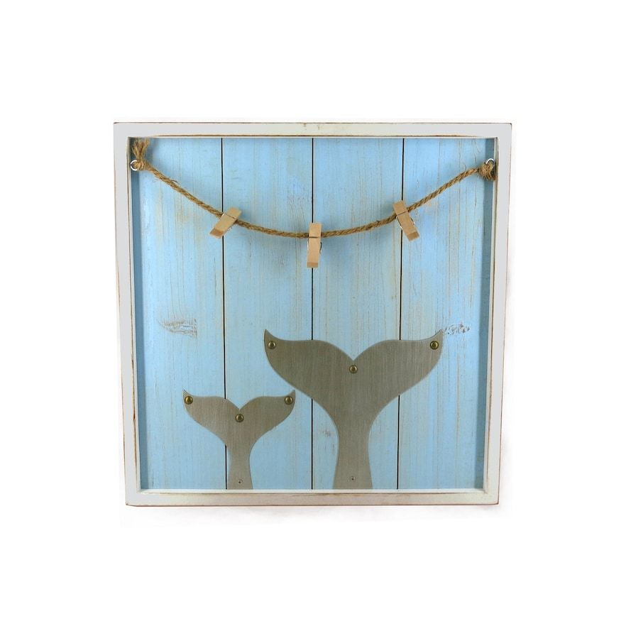 Sequioia Accent Wall Colors Sonoma: SONOMA Goods For Life™ Planked Whale Tail Photo Clip Wall